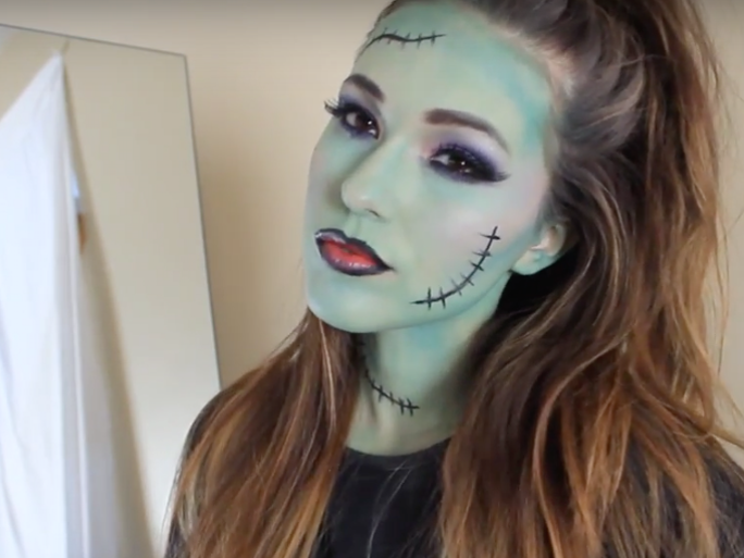 Creepy Halloween Makeup Ideas For You – When You Wish To Give A ...