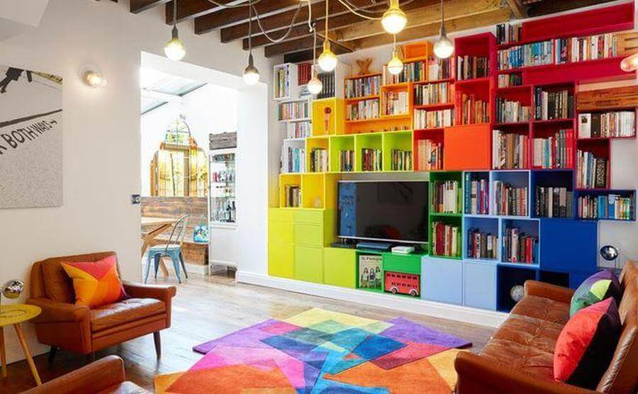 Colorfulness For A Vintage Home