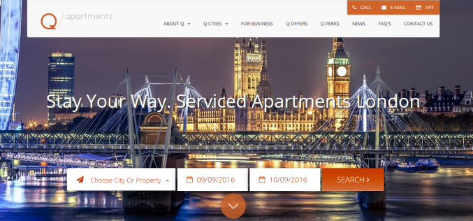 Serviced Apartments In London Make Your Stay More Cosy and Comfortable