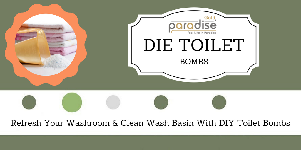 Refresh Your Washroom and Clean Wash Basin With DIY Toilet Bombs