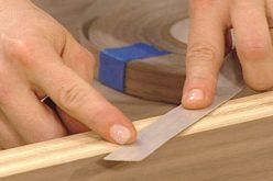 Tips For Applying Wood Veneer Tape