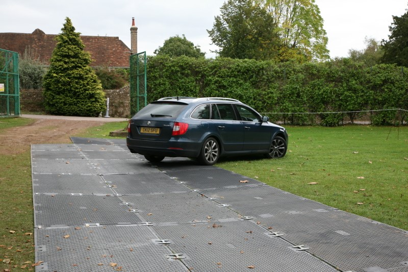 Temporary Car Park Matting - Durable Surface At Reasonable Price