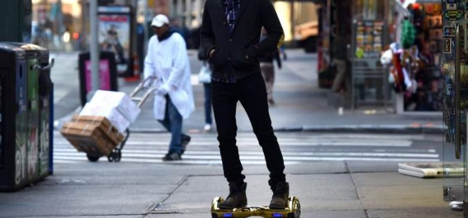 Skque Products Launches Safer Hoverboard