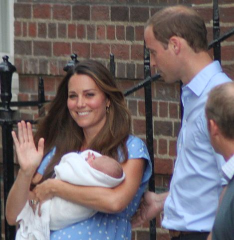 Prince George And Princess Charlotte Given Wooden Bath Toys