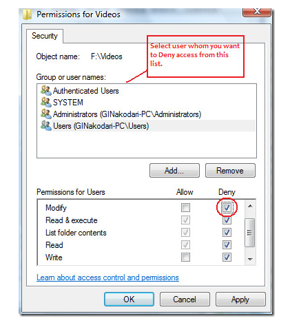 Password Protect A Folder In Windows 7