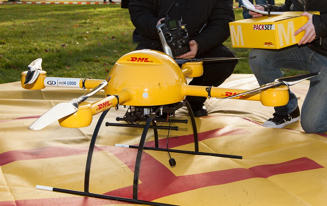 DHL Is The First International Courier To Offer A Commercial Drone Delivery Service
