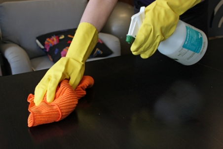 How To Use Cleaning Products Safety