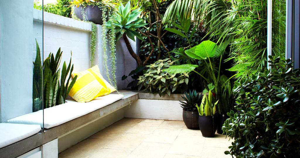 Harmony Between An Outdoor Garden and A Contemporary Design