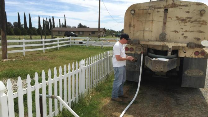 California Drought Launches 'Water Truck Business' Boom
