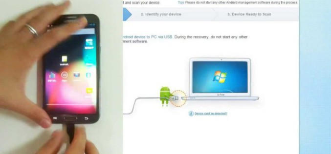 Wondershare Dr Fone For Android : Android Recovery System