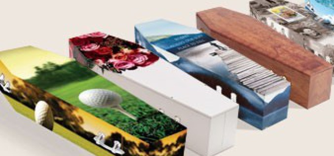 The Latest Trends In Customised Coffins With Designs