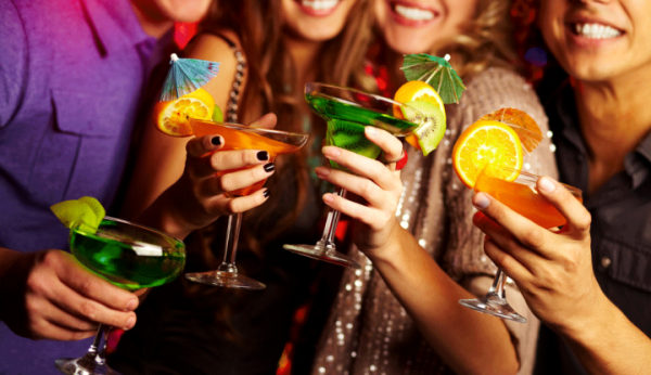 Top 5 Cocktails For A Student Party