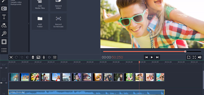 Guide On How To Include An Audio Track In A Video With Movavi Video Editor